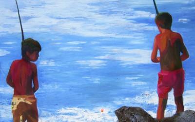 Tarde de pesca