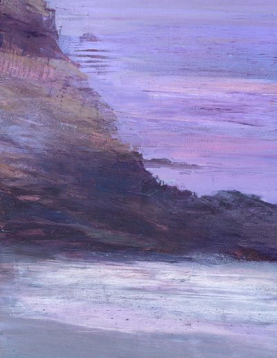 gruta y mar