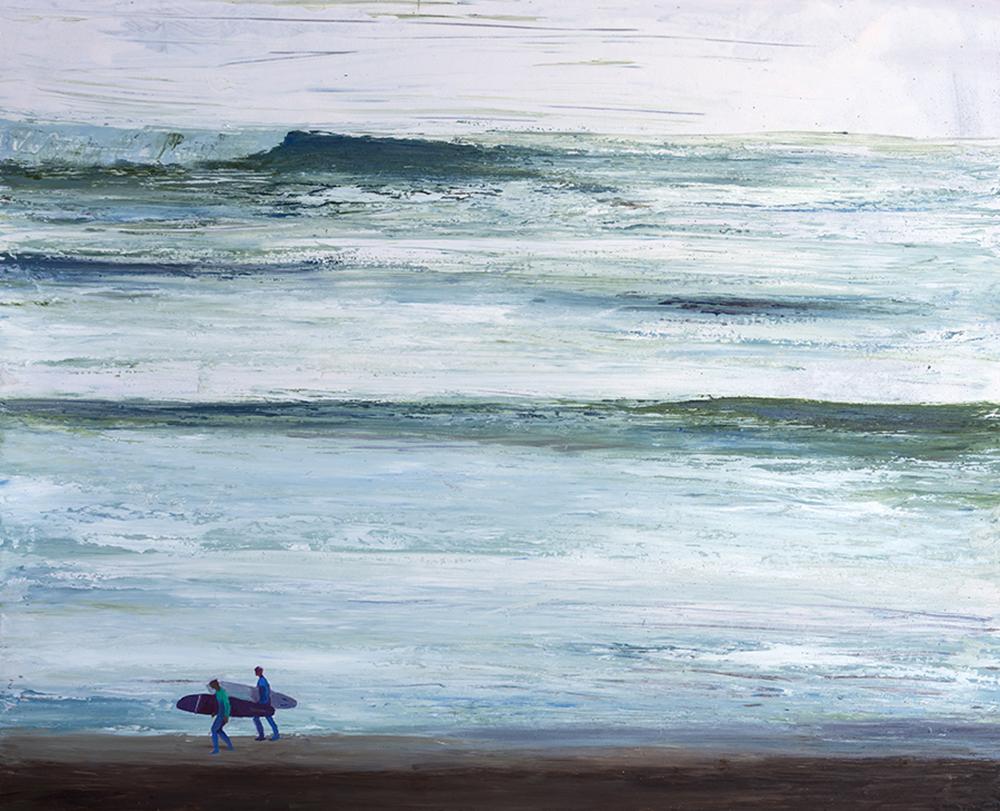 SURF. 81 x 100 Mixta sobre tabla